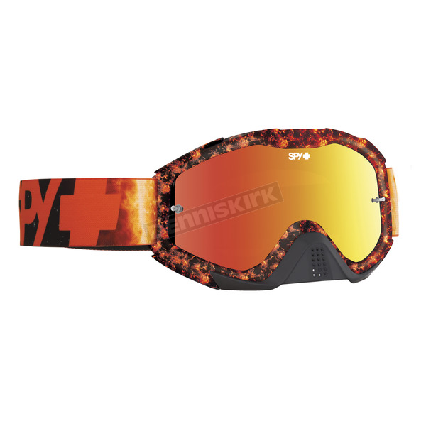 Spy Optic Flare Klutch Goggle w/Smoke/Red Spectra Lens - 322017721856