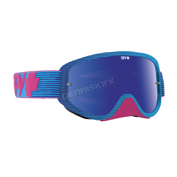 Spy Optic Pink Flash Woot Race Goggle W/Smoke/Pink Spectra Lens - 323346484878