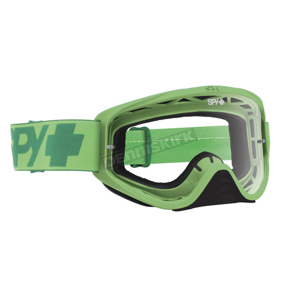 Spy Optic Mono Green Woot Goggle w/Clear AFP Lens - 323346233100