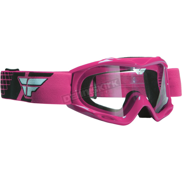 Fly Racing Pink Focus Goggles - 37-2220