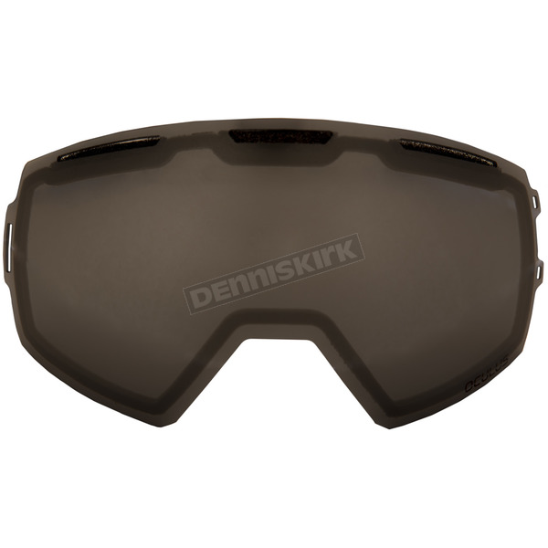 Klim Smoke Silver Mirror Replacement Double Lens for Oculus Goggles - 3891-000-000-001