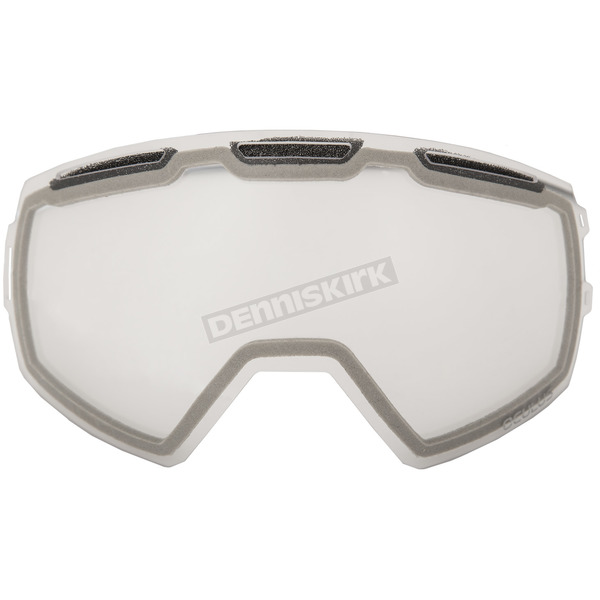 Klim Clear Replacement Double Lens for Oculus Goggles - 3891-000-000-006