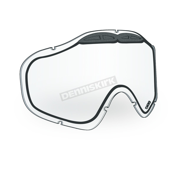 509 Clear Replacement Lens for Sinister X5 Ignite Goggles - 509-X5LEN-18-CLI