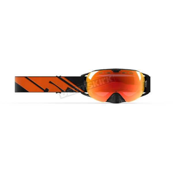 509 Black Fire Revolver Goggles w/Photochromatic Orange to Blue Lens - 509-REVGOG-18-BF