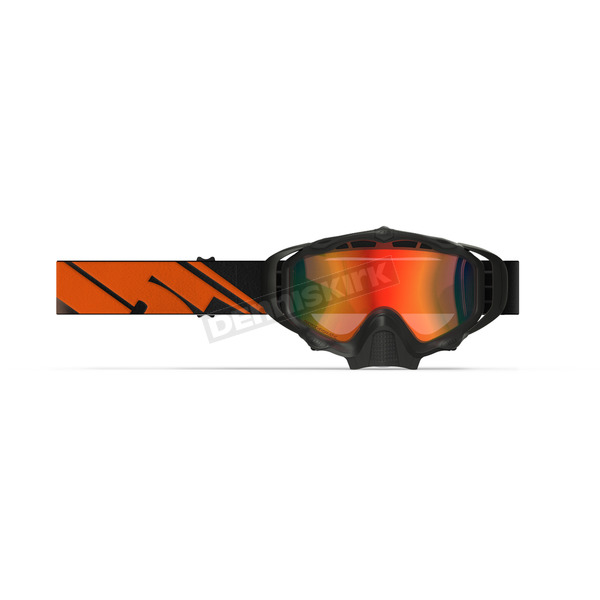 509 Black Fire Sinister X5 Goggles w/Photochromatic Orange to Blue Lens - 509-X5GOG-18-BF