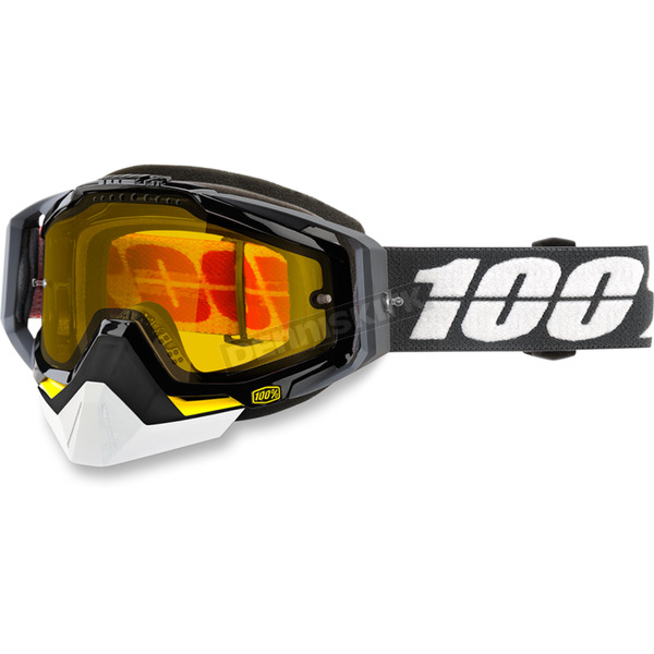 100% Racecraft Fortis Snow Goggles w/Dual Yellow Lens - 50103-220-02