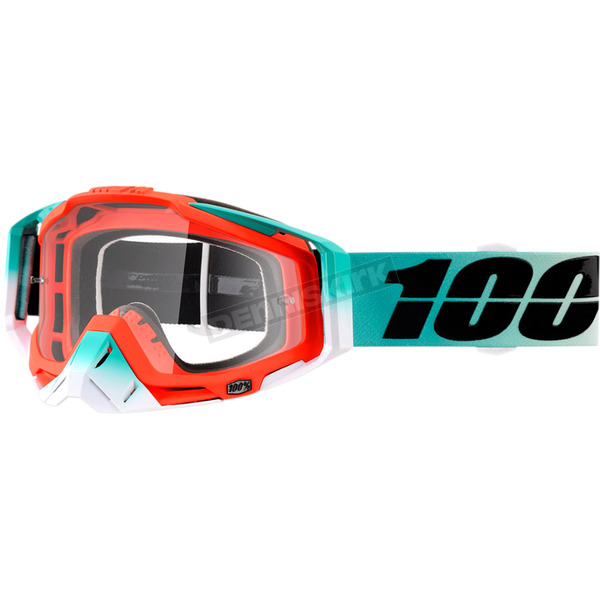 100% Racecraft Cubica Goggles w/Clear Lens - 50100-222-02