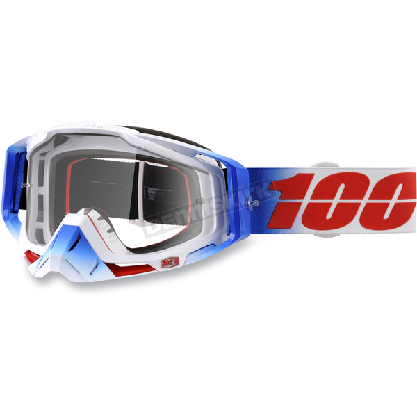 100% Racecraft Fourth Goggles w/Clear Lens - 50100-223-02