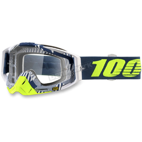 100% Racecraft Eclipse Goggles w/Clear Lens - 50100-224-02