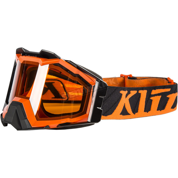 Klim Orange Flatline Viper Pro Snow Goggles - 3901-000-000-006