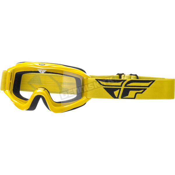 Fly Racing Yellow Focus Goggles - 37-4003