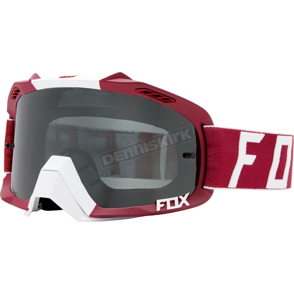 Fox Dark Red  Air Defence Preest Goggles - 19964-208-NS