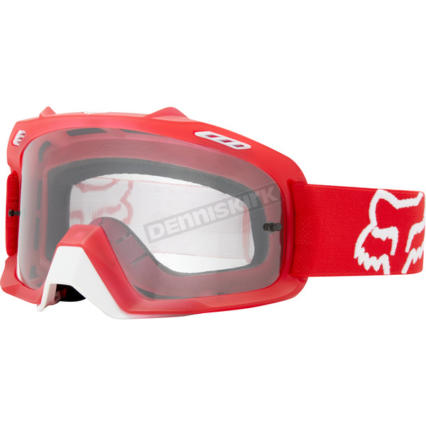 Fox Red Air Space Goggles - 20576-003-OS