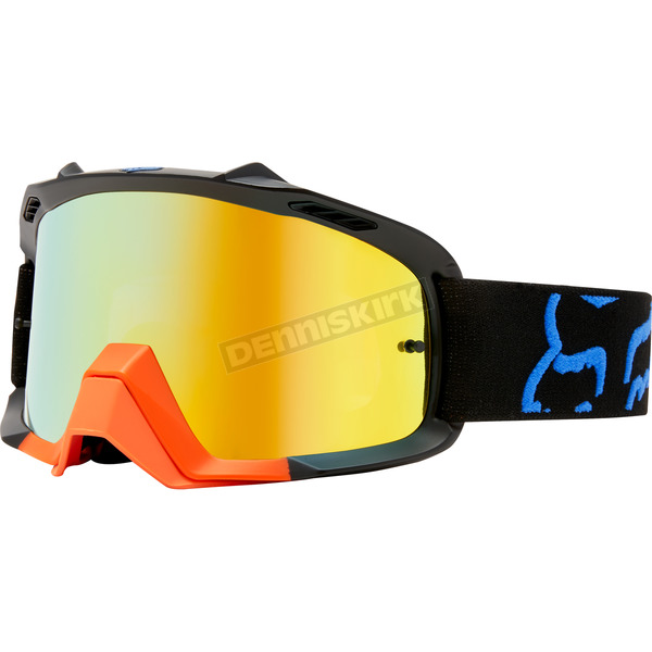 Fox Youth Black/Yellow Air Space Preme Goggles - 19972-019-NS