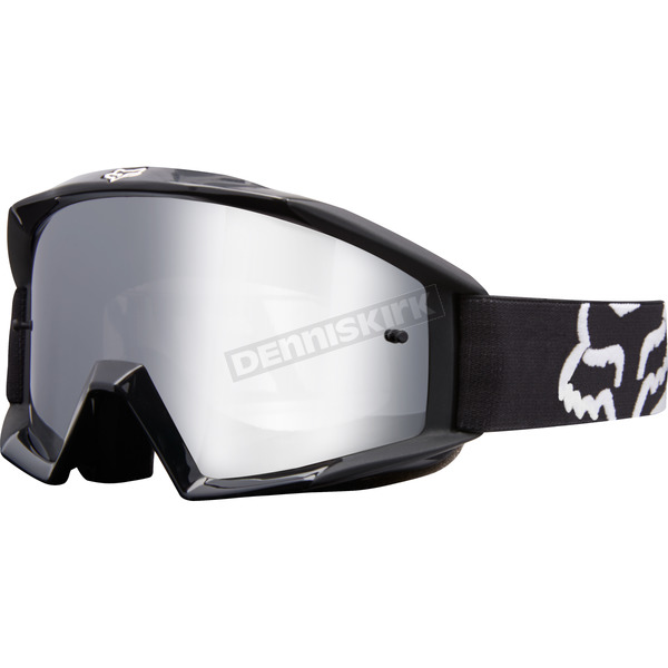 Fox Youth Black Main Race Goggles - 19971-001-NS