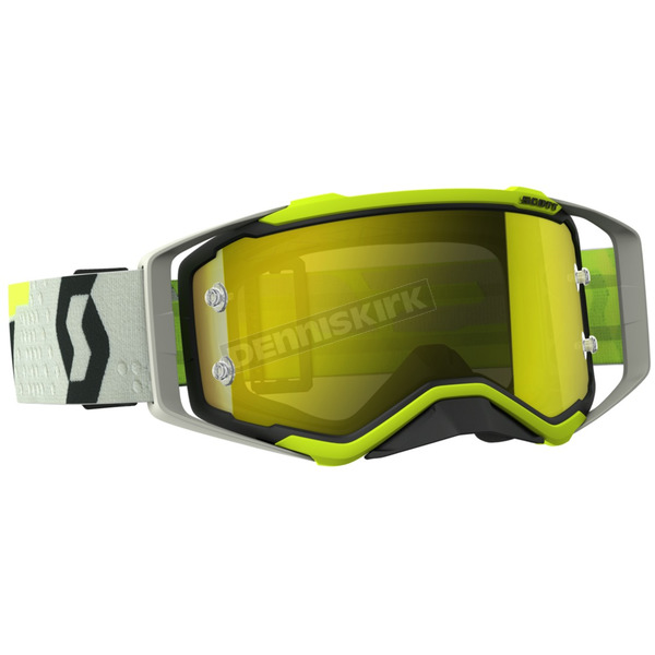 Scott Black/Yellow Prospect Goggles w/Yellow Chrome Works Lens - 262589-1040289