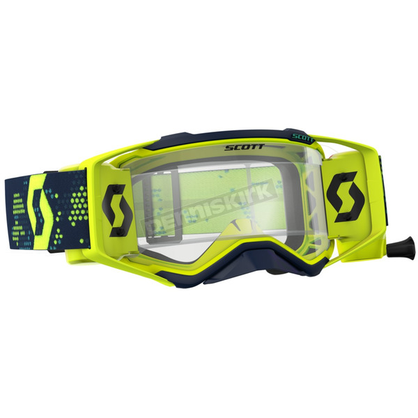 Scott Yellow/Blue Prospect WFS Goggles w/Clear Lens - 26259-01017113