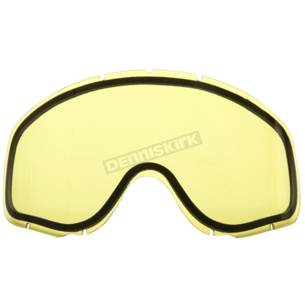 CKX Yellow Dual Pane/Vented Lend for Falcon Goggles - YH18/LENS-YE-DL