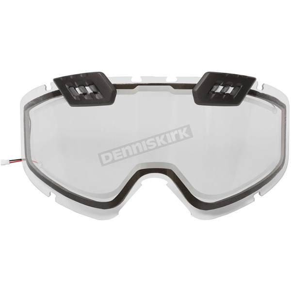 CKX Clear Dual Pane/Vents Lens for 210 Tactical Electric Goggles - 120127#