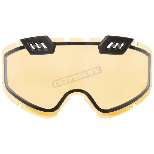 CKX Yellow Dual Pane/Vented Lens for 210 Tactical Goggles - 507009#