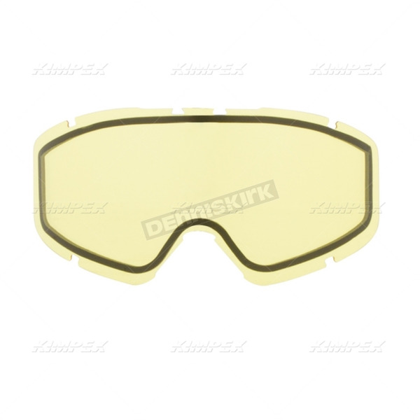 CKX Yellow Dual Pane Lens for 210 Goggles - LENS 210/TRAIL MIRR