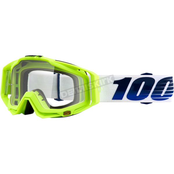 100% Racecraft GP21 Goggles w/Clear Lens - 50100-247-02