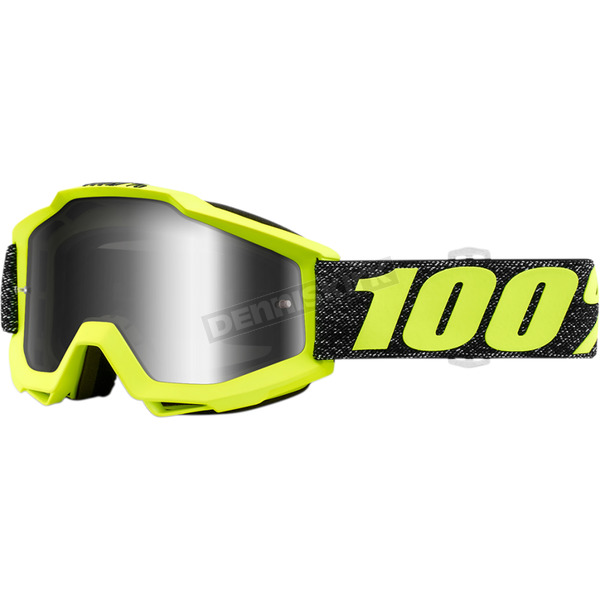 100% Accuri Tresse Goggles w/Clear Lens - 50200-250-02