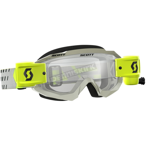 Scott Gray/Yellow Hustle WFS Goggles w/Clear Lens - 262593-1120113