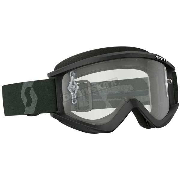 Scott Black/White Recoil XI Goggles w/Clear Lens - 262596-1007113