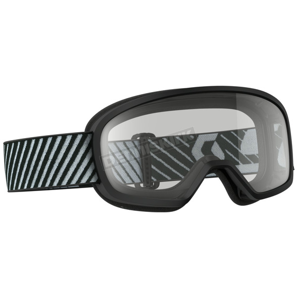Scott Youth Black Buzz Goggles w/Clear Lens - 262579-0001043