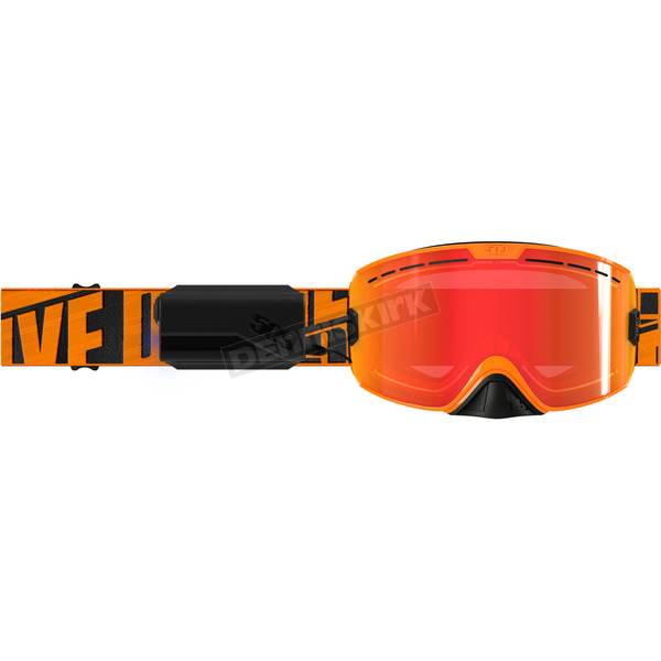 509 Particle Orange Kingpin Ignite Goggles w/Fire Mirror/Rose Tint Lens - F02001400-000-401