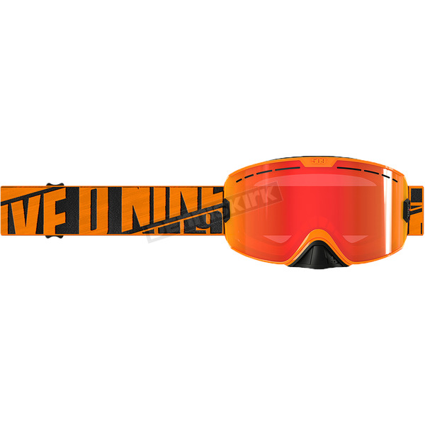 509 Particle Orange Kingpin Goggles w/Fire Mirror/Rose Tint Lens - F02001300-000-403