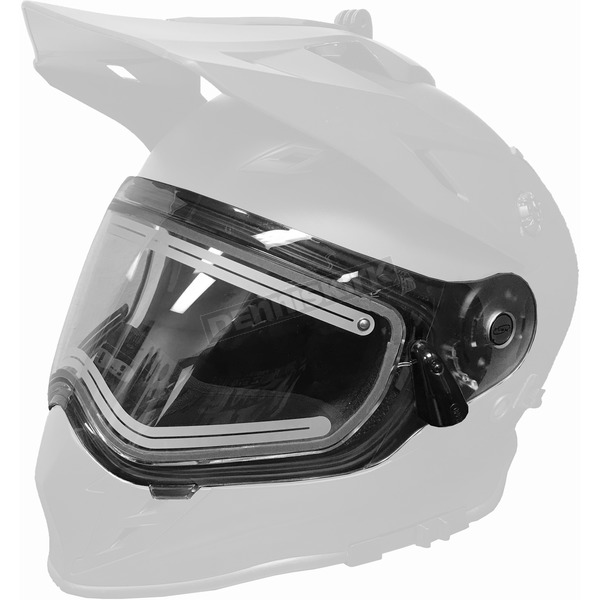 509 Clear Dual Electric Replacement Shield 2.0 for Delta R3 Helmet - F01001300-000-999