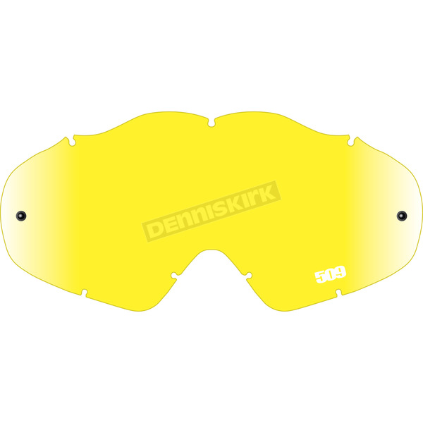 509 Yellow Replacement Offroad Open Box Lens for MX-5 Goggles - 509-MX-X5LEN-13-YL
