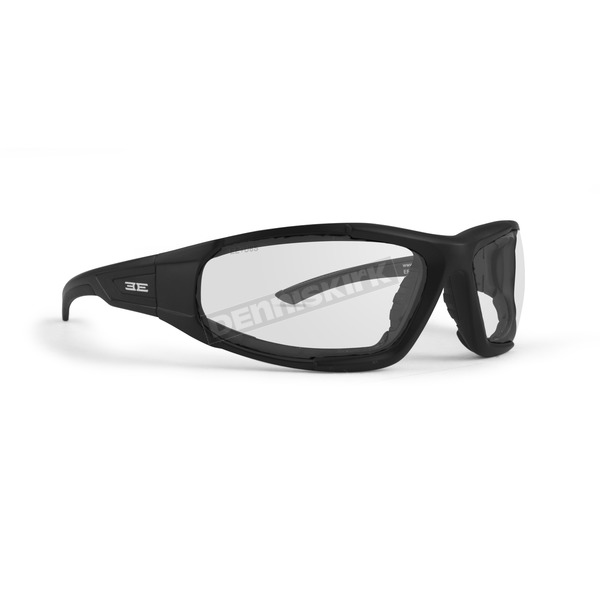 Black Foam 2 XL Sunglasses w/Clear Lens - EE3259