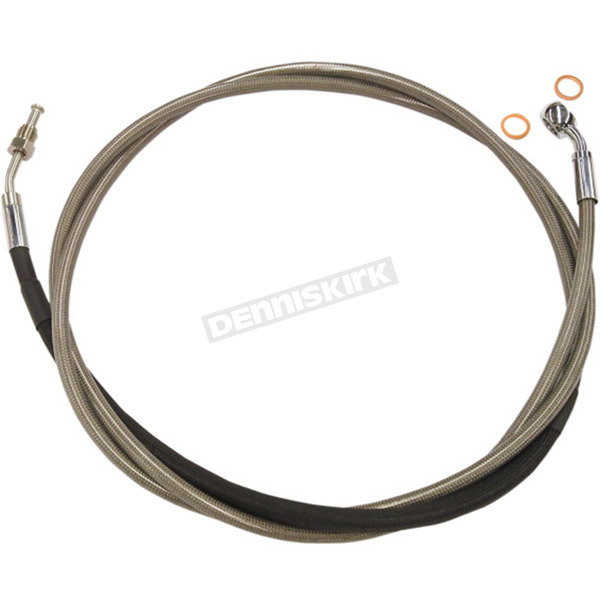 Magnum XR Polished Stainless Hydraulic Clutch Line - SSC0104-80