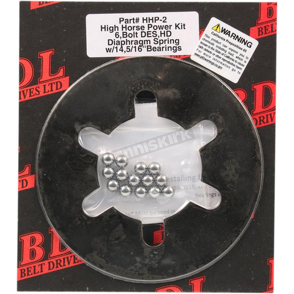 14x5/6 in. High Performance Ball-Bearing Lockup Clutch Upgrade Kit - HHP-2