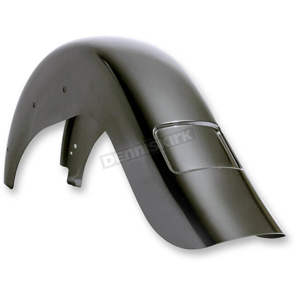 Klock Werks Rear +4 in. Extended Slim Frenched Plate Pocket Fender for Softails - 1401-0580