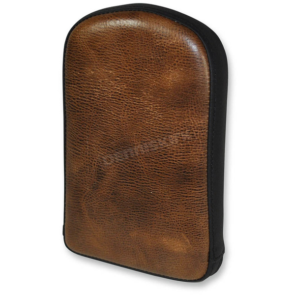 Saddlemen 11 in. Brown Gravestone Sissy Bar Pad for Saddlemen Lariat Seats - 041141