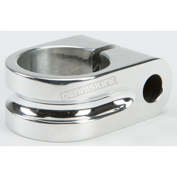Rooke Customs Polished 1 in. Milled Mirror Mount - R-MM100-MP