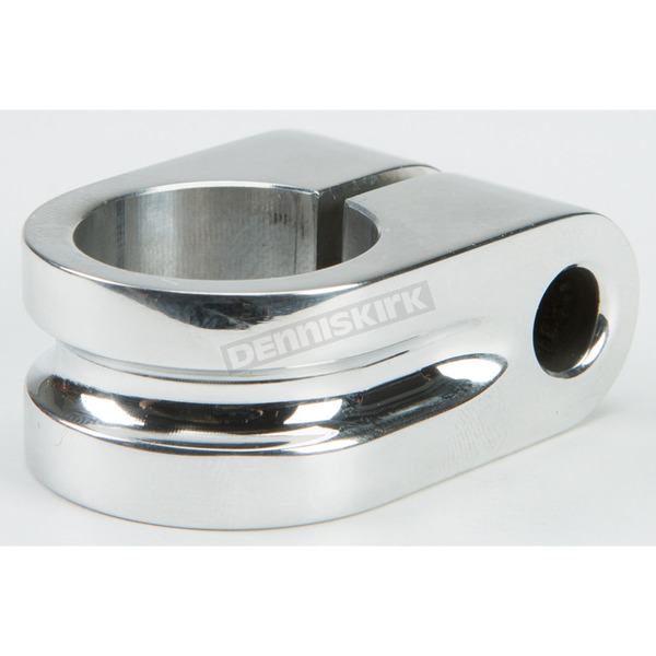 Rooke Customs Polished 7/8 in. Milled Mirror Mount - R-MM875-MP