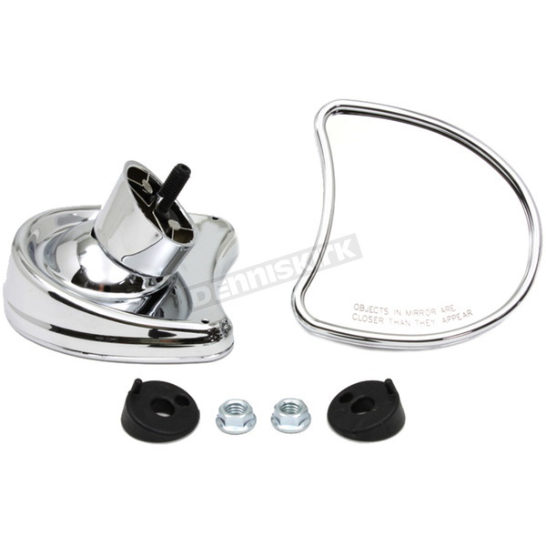 V-Twin Manufacturing Chrome Fairing Mirror Set - 34-0055