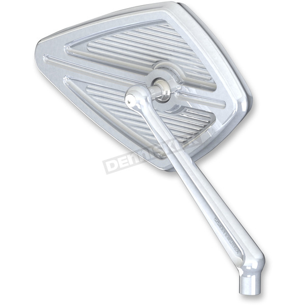 Chrome Left Side Diamond Mirror - 13-127