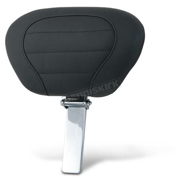 Black Deluxe Touring Driver Backrest Pad & Post - 79012