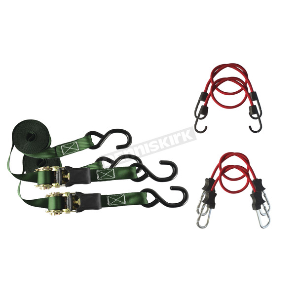 Secure - IT 7 pc. Ratchet and Bungee Package - SI-3000