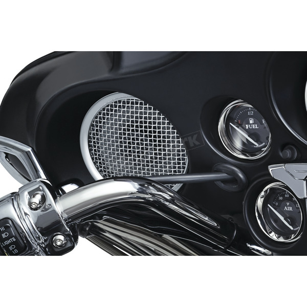 Kuryakyn Chrome Road Thunder Fairing Speaker Kit by MTX - 2717
