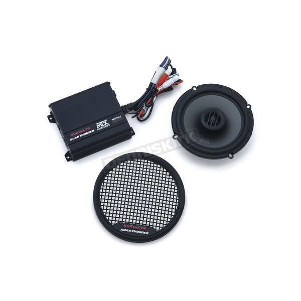 Kuryakyn Black Road Thunder Fairing Speaker Kit by MTX - 2718