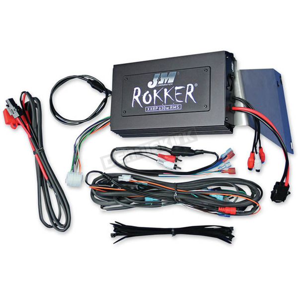J&M Corporation Rokker XXRP 630W 4-CH DSP Programmable Amplifier Kit - JAMP-630HR11ULP
