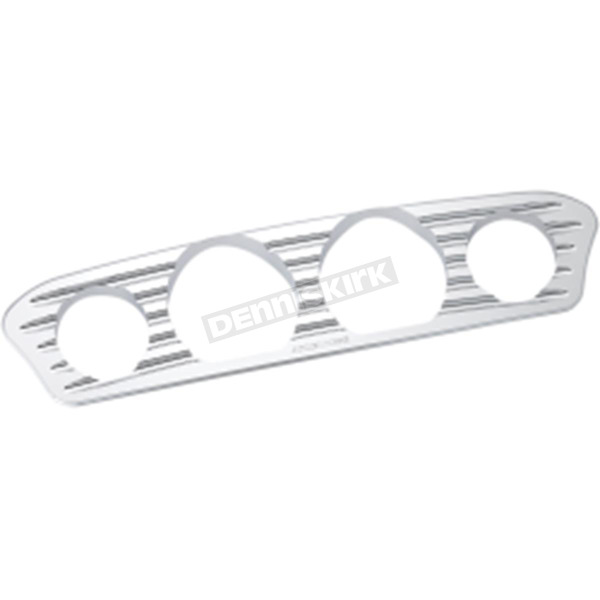 Arlen Ness Chrome Deep Cut Inner Fairing Gauge Trim - 30-342