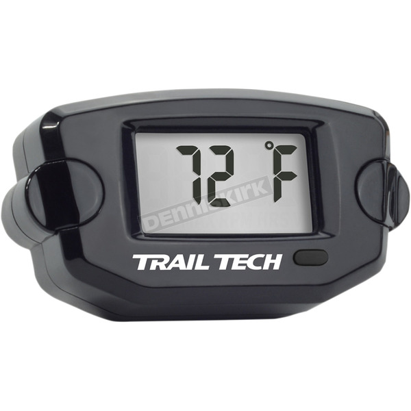 Trail Tech Black TTO Digital Temperature Meter - 7mm Fin Sensor - 742-EF4